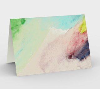 Ocean Rainbow Card preview