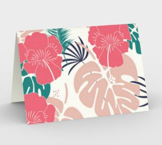 Pink Hibiscus - Tropical Flowers preview
