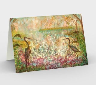 Dawn Symphony Blank Greeting Cards preview