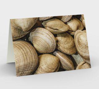 Shellfishs Photo Print Pattern Stationery preview