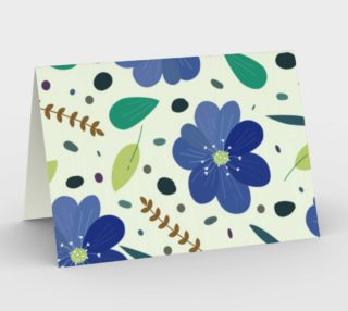 Blue and Green Floral preview
