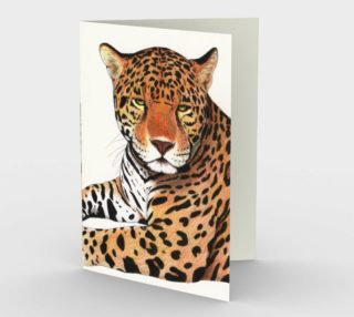 Jaguar Stationery Card preview