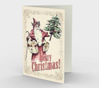 Vintage Santa Merry Christmas preview