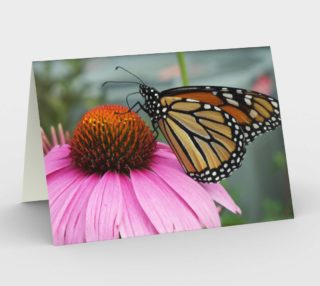 Monarch Butterfly Card preview