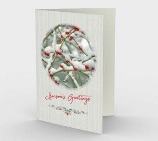 Aperçu de Snow Berries Season's Greetings