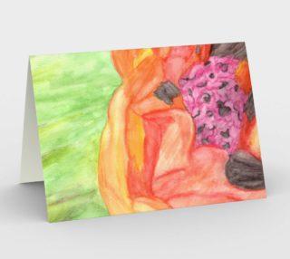 Giant Orange Poppy Card preview