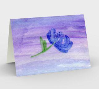 Mum Flower Card preview