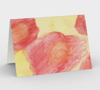 Red Flower Blooms Card preview