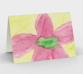 Pink Flower Blossom Card preview