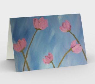 Lueur de Fleur Rose Card preview