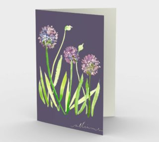 Aperçu de Purple Alliums