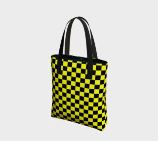 Aperçu de Black and Yellow Checkerboard