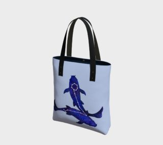 Astrological sign Pisces constellation Tote Bag preview