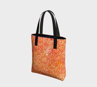 Autumn foliage watercolor Tote Bag preview