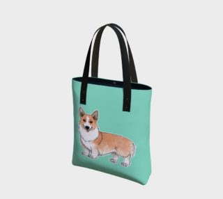 Aperçu de Welsh corgi dog Tote Bag