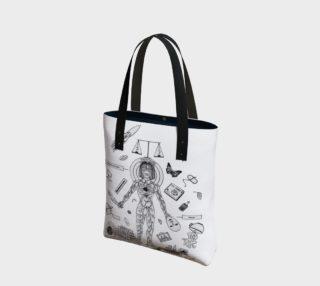 Aperçu de Behave Yourself Canvas Tote Bag