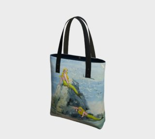Darwin's Mermaids Canvas Tote Bag preview