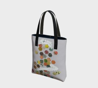 Honey Canvas Tote Bag preview