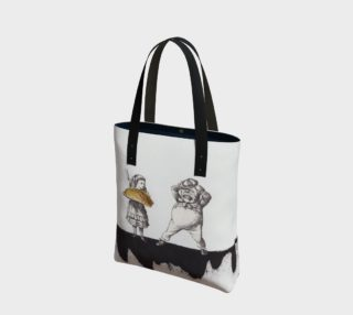 You Eat It Canvas Tote Bag preview