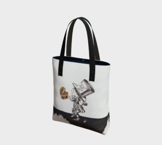 Tea and Hearts Canvas Tote Bag preview