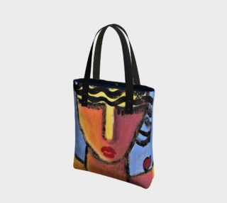 Listen to Your Heart Abstract Art Shoulder Bag preview