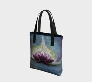 Aperçu de Energy Lotus Tote Bag