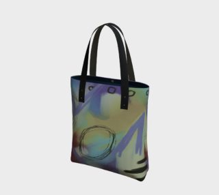 Funky Abstract Art Tote Bag preview
