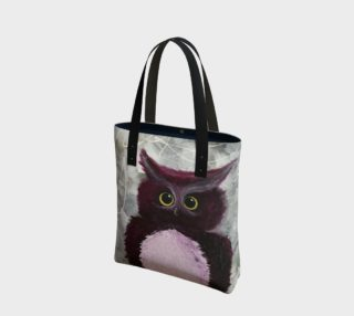Mulberry Owl Tote Bag preview