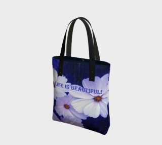LIFE IS BEAUTIFUL! Tote Bag preview