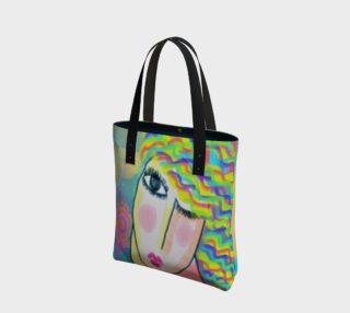 Aperçu de Spring Abstract Art Shoulder Bag