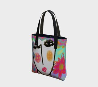 Summer Abstract Art Shoulder Bag preview