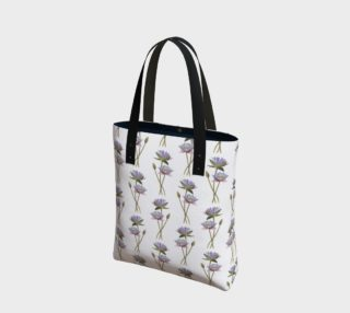 Lotus flowers pattern Tote Bag preview