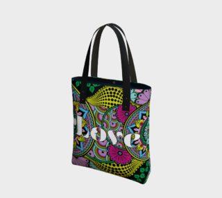 Love Mandala Tote Bag preview
