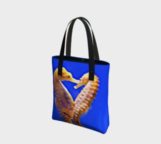 Dancing Seahorses Tote preview