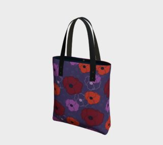 Poppies Tote Bag preview