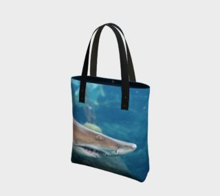 Shark Tote Close Up preview
