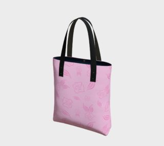 Cartoon Rose Basic Tote preview
