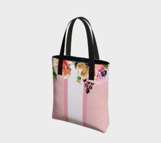Floral Tote in Millennial Pink preview