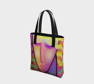 Colorful Abstract Woman Shoulder Bag preview