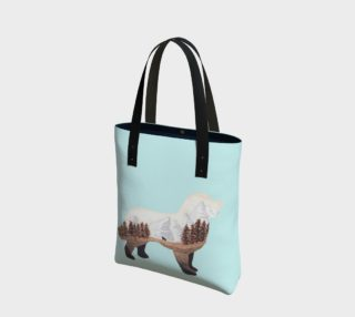 pale blue berner tote preview