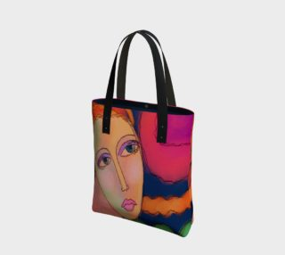 Colorful Abstract Art Shoulder Bag preview