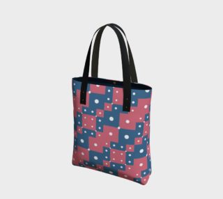 Colorful Geometric Pattern Tote Bag preview