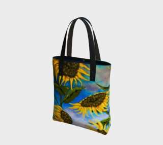 Vibrant Sunflower Tote Bag preview