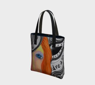 Aperçu de Dream Abstract Art Shoulder Bag