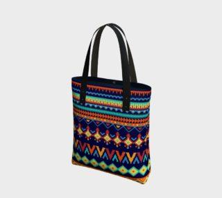 Bright Colorful Tribal Pattern aperçu