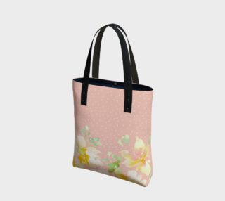 Aperçu de Grace Floral Blush Pink Tote
