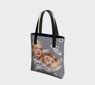 Self Observable Universe Canvas Tote Bag preview