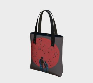 Constellation Canvas Tote Bag preview