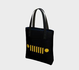 I.A.J.T.' (logo) Tote Bag preview