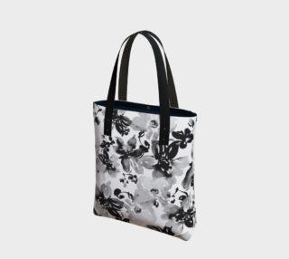 Aperçu de Black and White Floral